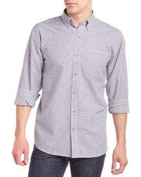 Cutter & Buck - St John Woven Shirt - Lyst