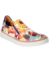 Robert Graham - Hanover Leather Trainer - Lyst