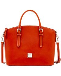 Dooney & Bourke - Florentine Nuovo Domed Satchel - Lyst