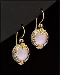 Konstantino - Iliada 18k & Silver Mother-of-pearl Earrings - Lyst