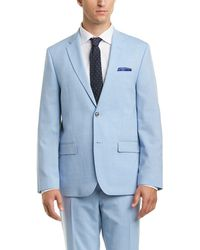 Ben Sherman - Solid Chambray Stretch Suit - Lyst