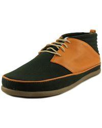 Volta Footwear - Classic Deer Leather Fashion Sneakers - Lyst