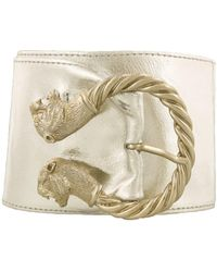 Renato Balestra - Guinivere Leather Womens Belt - Lyst
