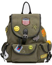 Bungalow 20 - Blake Backpack In Khaki - Lyst