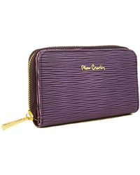 Pierre Cardin - Paglia 503 Vi Leather Compact Zip Wallet - Lyst