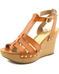 American Living - Womens Abaline Open Toe Casual Platform Sandals - Lyst