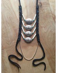 Love Leather - Starburst Sunrise Necklace - Lyst