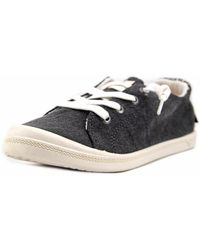 Roxy - Bayshore Round Toe Canvas Trainers - Lyst