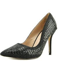 De Blossom Collection - Elsa Pointed Toe Synthetic Heels - Lyst