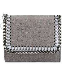 Stella McCartney - - Mini 'falabella' Flap Wallet - Women - Polyester - One Size - Lyst