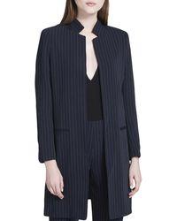 Calvin Klein - Womens Open Front Long Sleeves Long Coat - Lyst