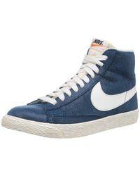 Nike - Blazer Mid Suede Vintage High Top Sneakers - Lyst
