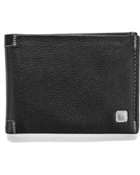Steve Madden - Soft Pebble Leather Slimfold Wallet - Lyst