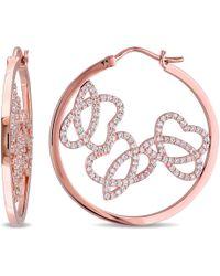 Julianna B - 1 Ct Diamond Tw Charm Earrings - Lyst