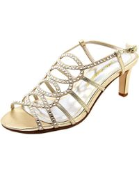 Caparros - Womens A-list Open Toe Special Occasion Slingback Sandals - Lyst