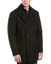Marc New York - Burnett Wool-blend Coat - Lyst