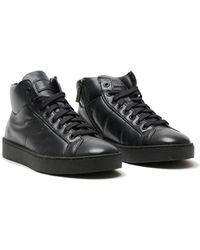 Santoni - Black In Black , Size 8 - Lyst