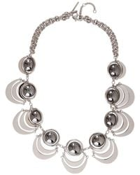 Lele Sadoughi - Celestial Galaxy Plated Orbit Necklace - Lyst