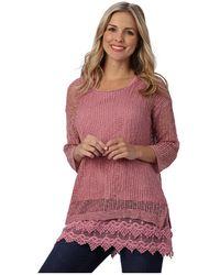 Patchington - Open Knit Sweater - Lyst