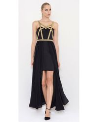 Lumier - Crazy Little Thing Harness Dress - Lyst