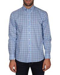 Etro - Men's 163656031200 Light Blue Cotton Shirt - Lyst