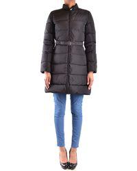 Aspesi - Women's Mcbi150191o Black Polyester Down Jacket - Lyst