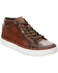 Kenneth Cole - Seize The Moment Leather Trainer - Lyst