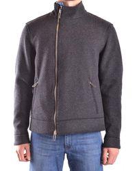 Paolo Pecora | Men's Grey Wool Sweatshirt | Lyst