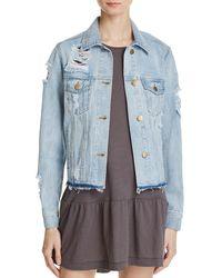 On The Road - Womens Fall Fashion Denim Jacket - Lyst
