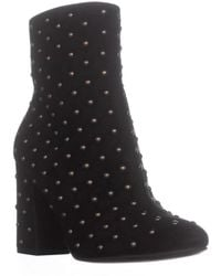 Lucky Brand - Wesson2 Ankle Studded Zip Up Boots, Black - Lyst
