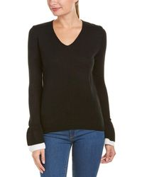 Lea & Viola - Bell-sleeve Sweater - Lyst