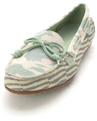 Cole Haan - Lenasam Closed Toe Boat Shoes Multi - Lyst