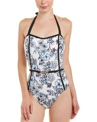 Athena - Garden Party Belted One-piece - Lyst