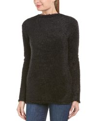 Anine Bing - Anine Bing Fuzzy Open Back Sweater - Lyst