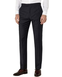 Reiss - Kreider T Slim Fit Wool-blend Trouser - Lyst