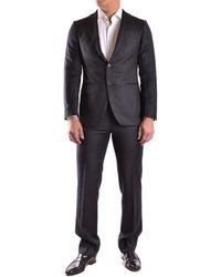 Burberry - Men's Black Wool Suit - Lyst