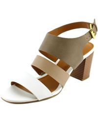 American Living - Wakely Women Open-toe Synthetic Slingback Sandal - Lyst