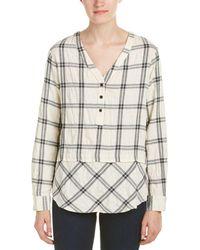 Fifteen Twenty - Mix Match Plaid Shirt - Lyst