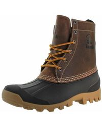 Kamik - Yukon 6 Men Round Toe Leather Brown Hunting Boot - Lyst