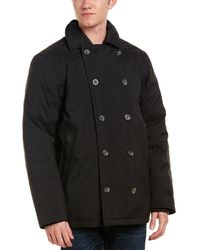 The North Face - Lenox Down Peacoat - Lyst