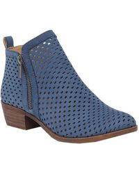 Lucky Brand - Women's Perforated Basel Booties - Lyst