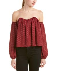 4si3nna - Off-the-shoulder Top - Lyst