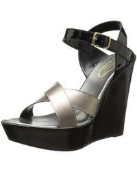 Callisto - Women's Scooter Wedge Sandal - Lyst