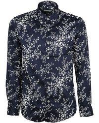 Etro - Men's 138644739200 Blue Cotton Shirt - Lyst