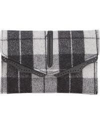 Danielle Nicole - Womens Hudson Wool Plaid Crossbody Handbag - Lyst
