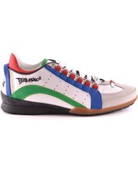 DSquared² - Men's W16sn434714m650 Multicolor Leather Sneakers - Lyst
