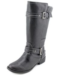 Sporto - Womens Nadia Faux Fur Closed Toe Mid-calf Fashion Boots - Lyst