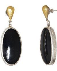 Gurhan - Galapagos Oval Agate Drop Earrings - Lyst
