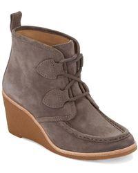 G.H. Bass & Co. - . Womens Rosa Dress Wedge Heel Boot - Lyst