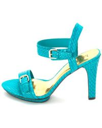 Lauren by Ralph Lauren | Womens Hazel Open Toe Casual Ankle Strap Sandals | Lyst